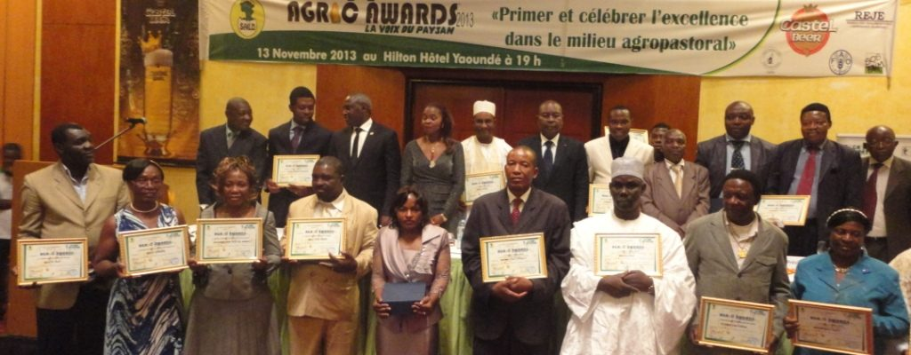 Photo de famille Agric awards 2013