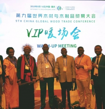 SAILD at the China conference on global timber trade