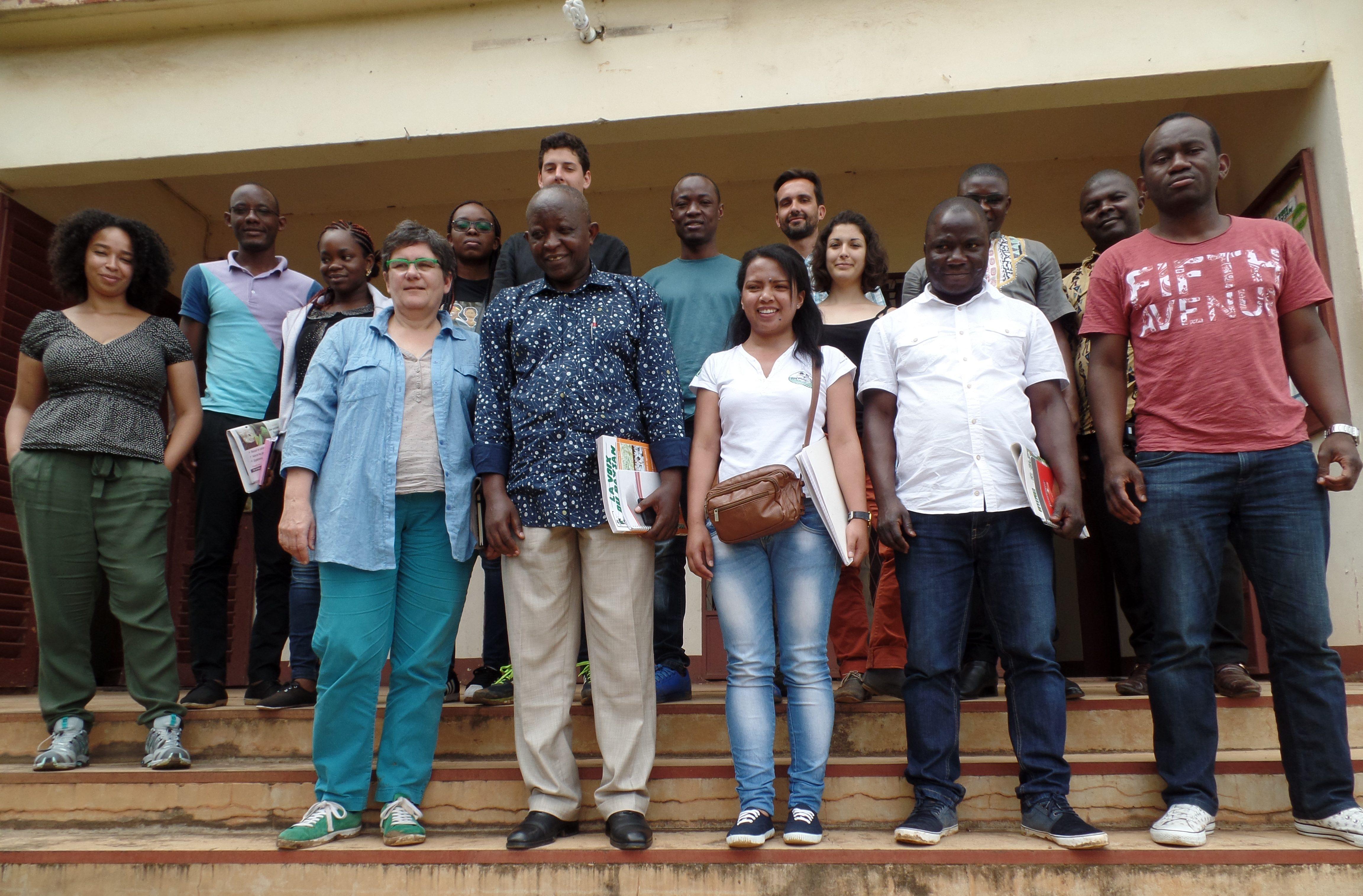 Des étudiants ingénieurs agronomes d'AgroParisTech au SAILD