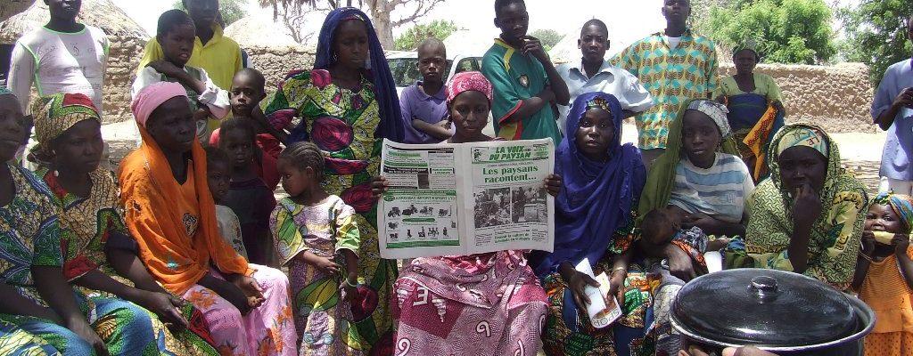 Lecteur Lvdp en zole sahélienne à l'Extrême-Nord du Cameroun