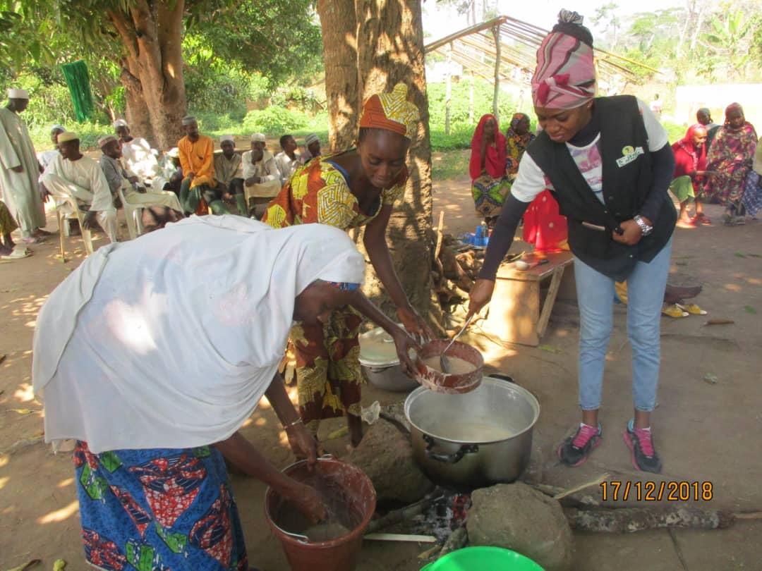 Des aliments à haute valeur nutritive introduits dans la nutrition des réfugiés dans la région de l'Est Cameroun.