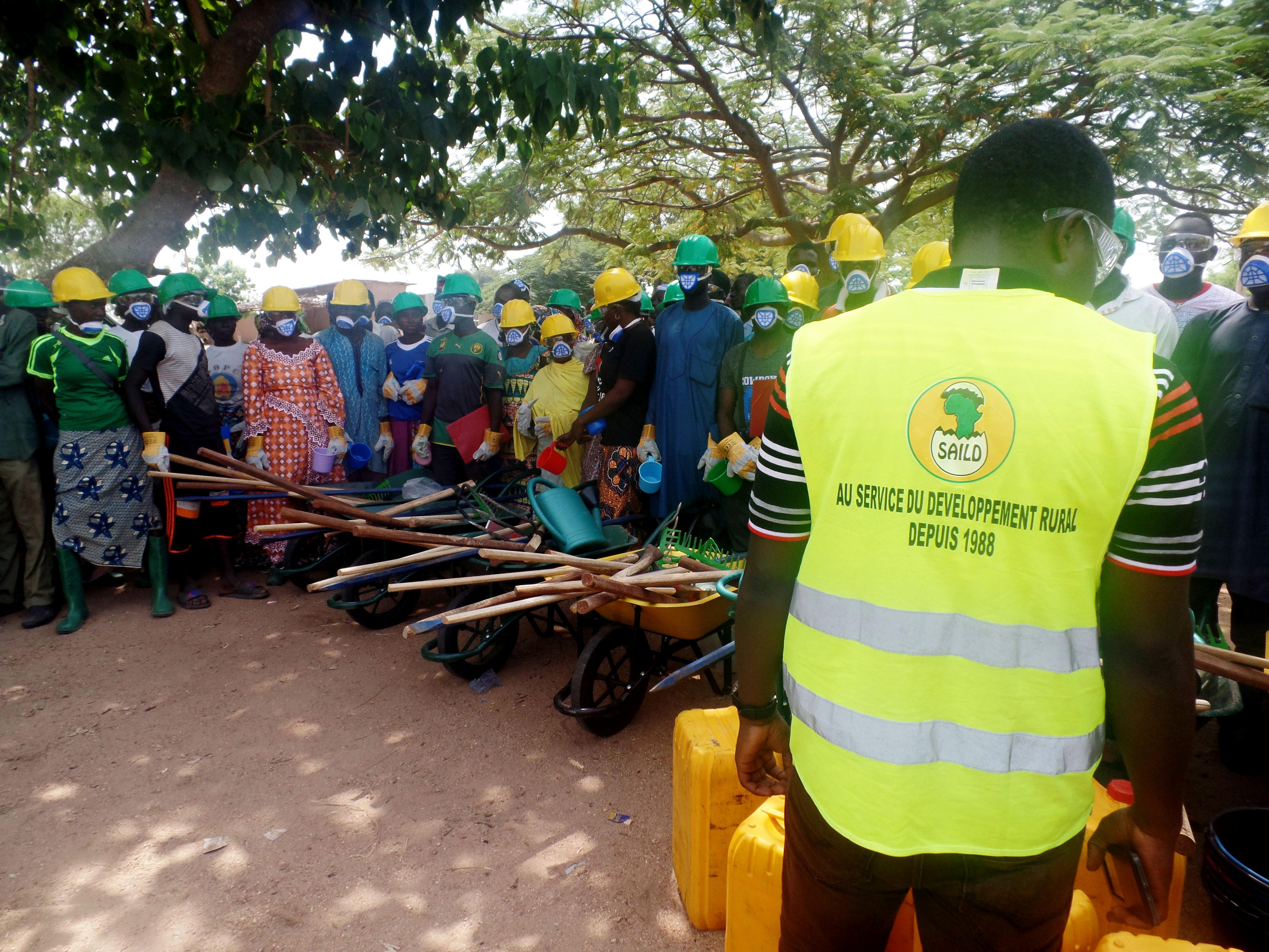 3000 emplois créés par le Projet Filets Sociaux à travers les THIMO au Nord Cameroun