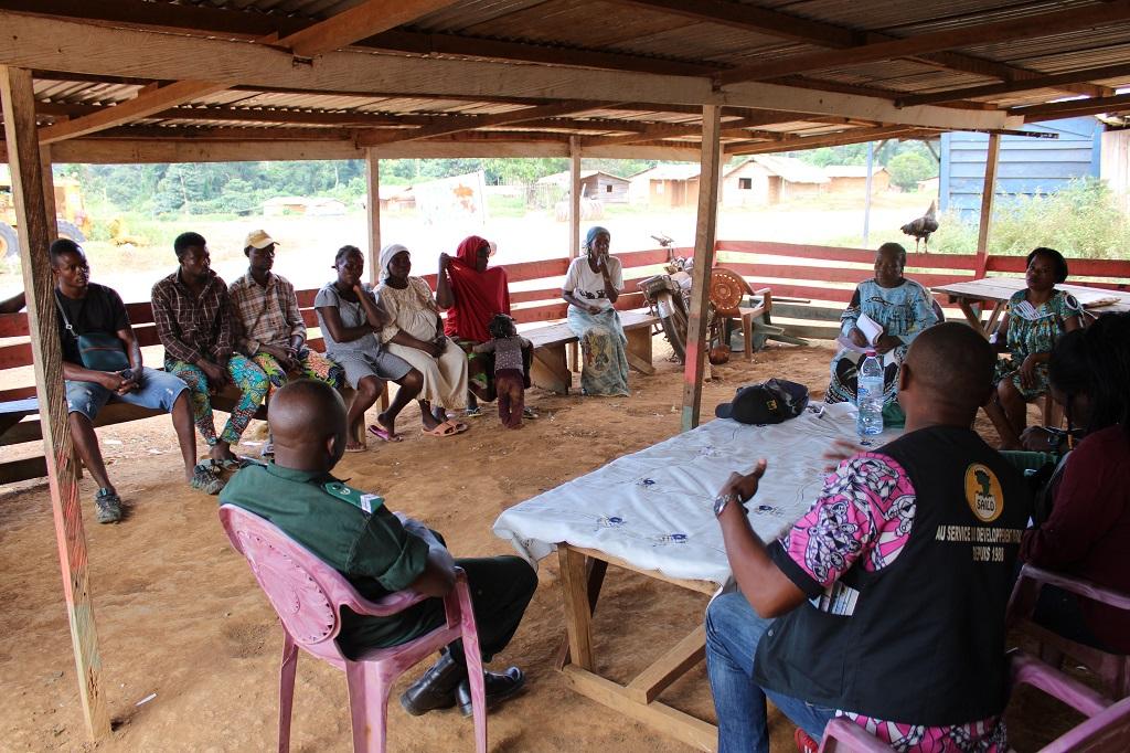 Les communautés autour du parc national de Deng Deng sensibilisées sur les Comités Paysans Forêt